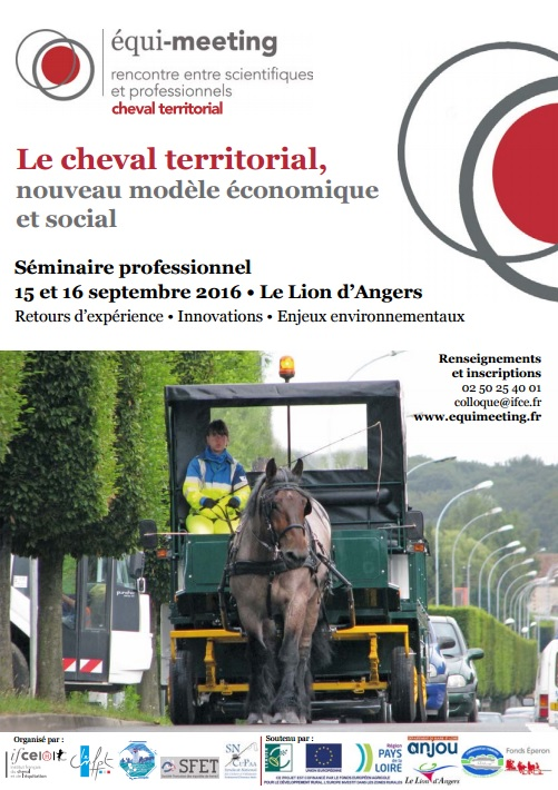 Replay des interventions de l'Equi-meeting Cheval Territorial 2016