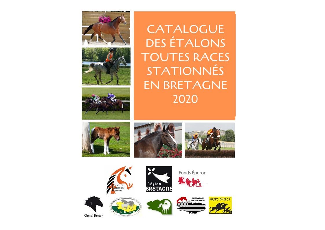 Inscriptions catalogue en ligne des étalons toutes races stationnés en Bretagne