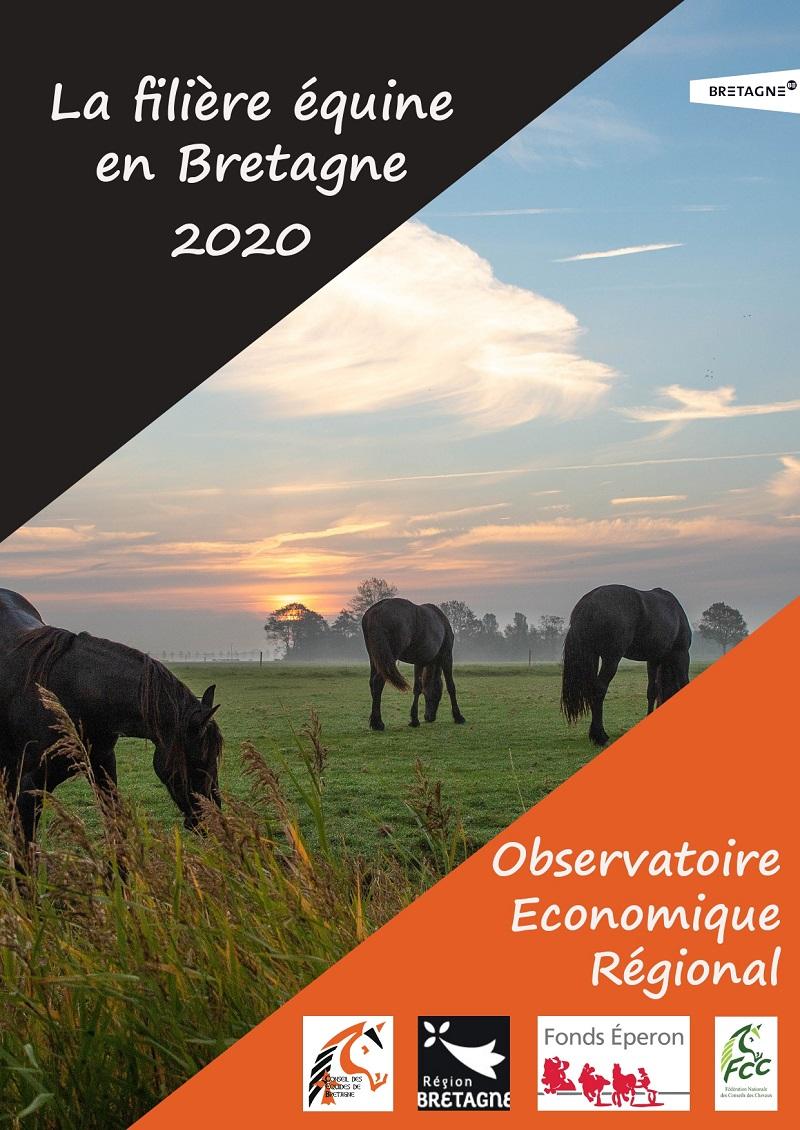 L'observatoire économique 2020 de la filière équine bretonne est paru !!!