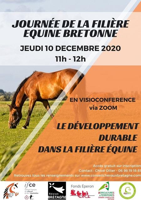 Le développement durable dans la filière équine : parlons-en lors de la Journée Filière Equine Bretonne le 10 décembre