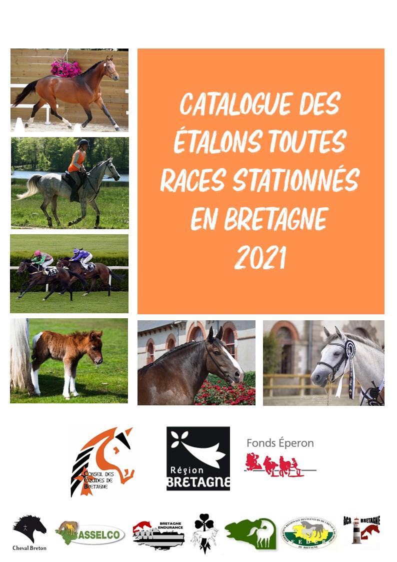 Le catalogue en ligne 2021 des étalons toutes races stationnés en Bretagne
