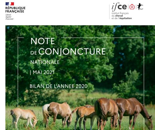 Note de conjoncture IFCE : bilan de l'année 2020