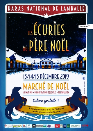 Les Ecuries du Père Noël se déroulent cette année du 13 au 15 décembre au Haras de Lamballe
