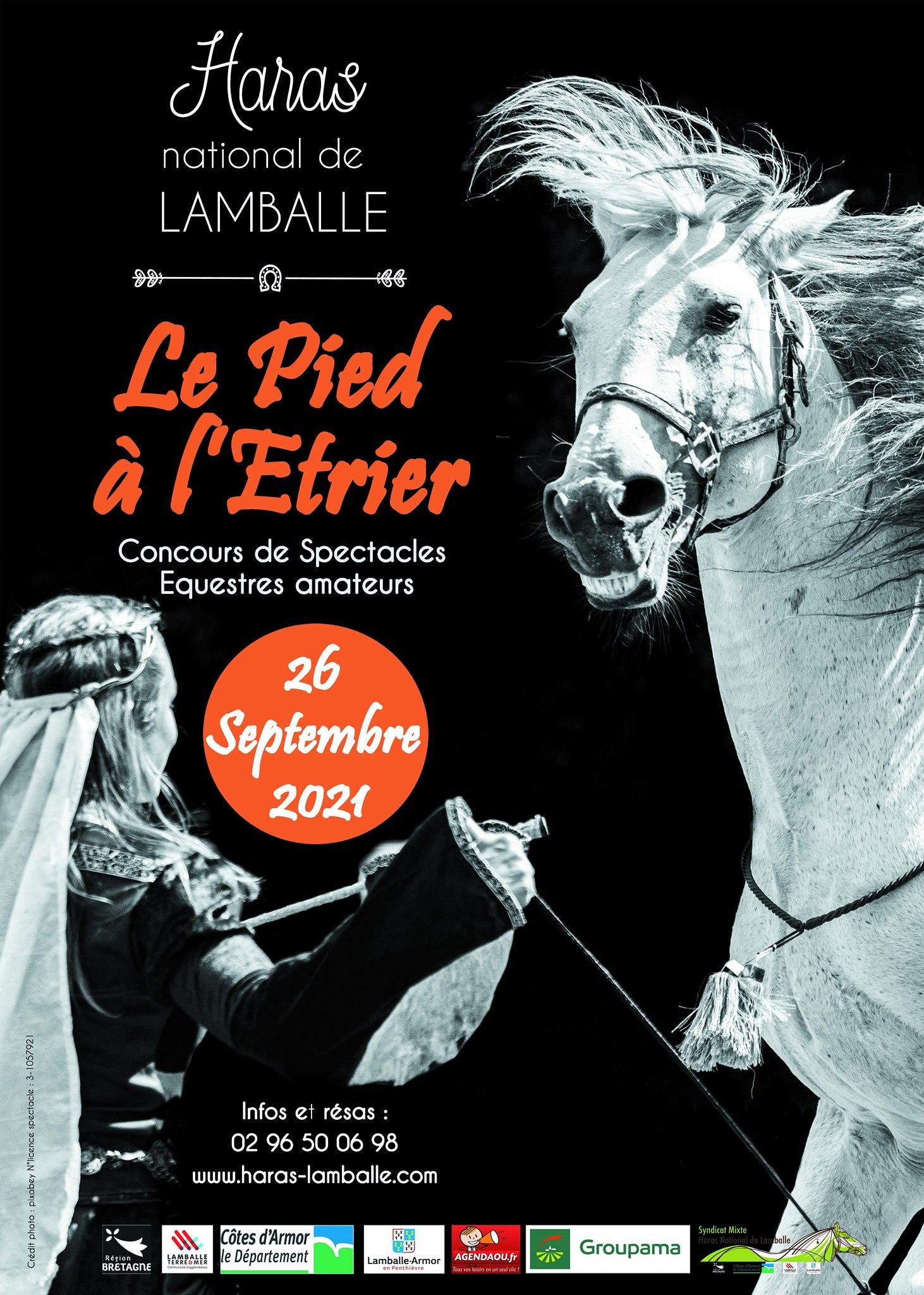 Concours de spectacle équestre - Le Pieds à l'Etrier au Haras National de Lamballe