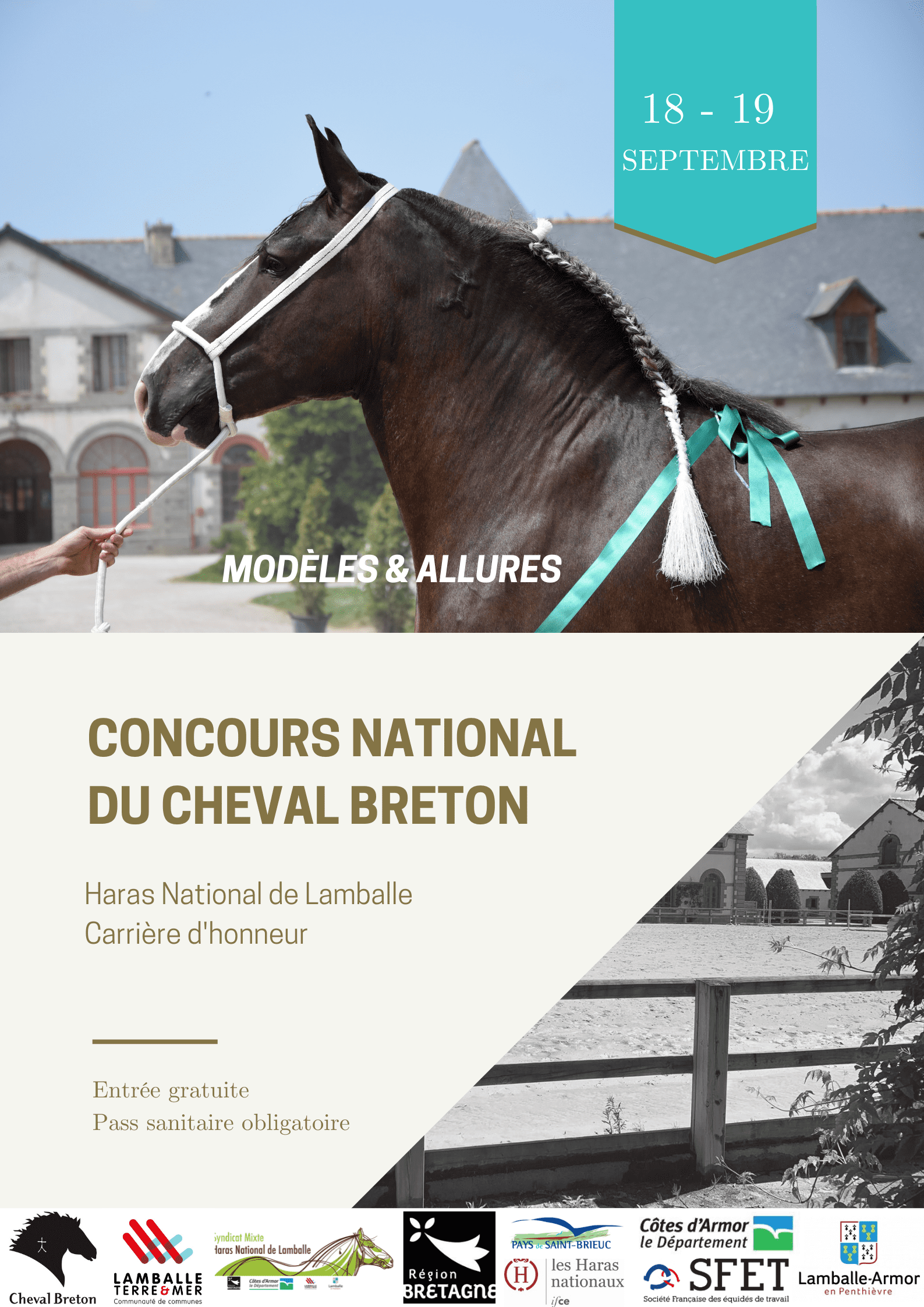 Concours national du Cheval Breton
