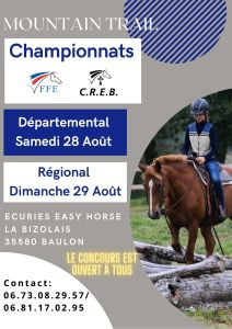 Championnat de Bretagne de Mountain Trail à Boulon