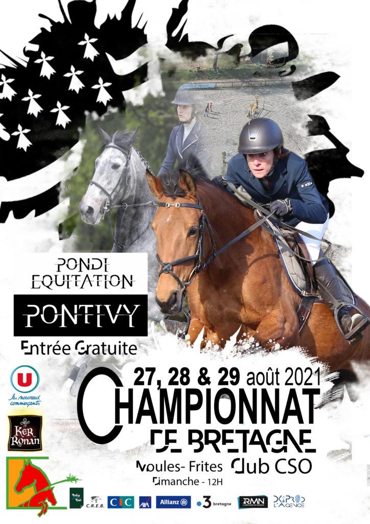 Championnat de Bretagne Clubs CSO à Pontivy