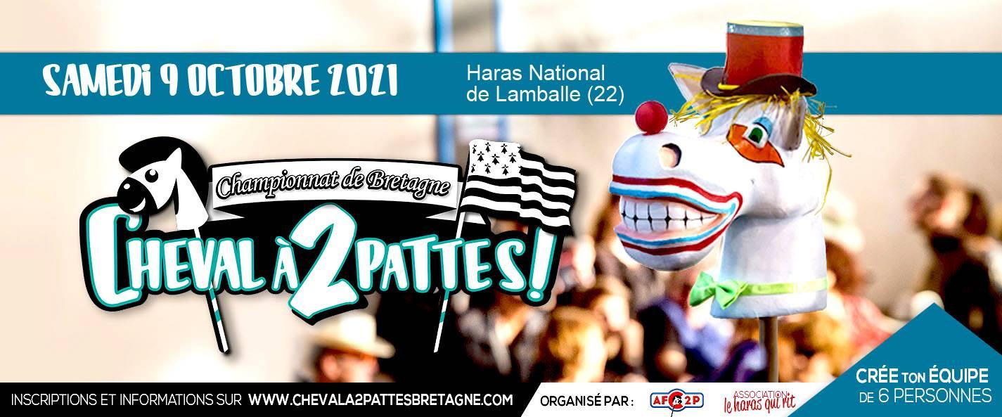 Championnat de Bretagne du Cheval à 2 pattes - ANNULE
