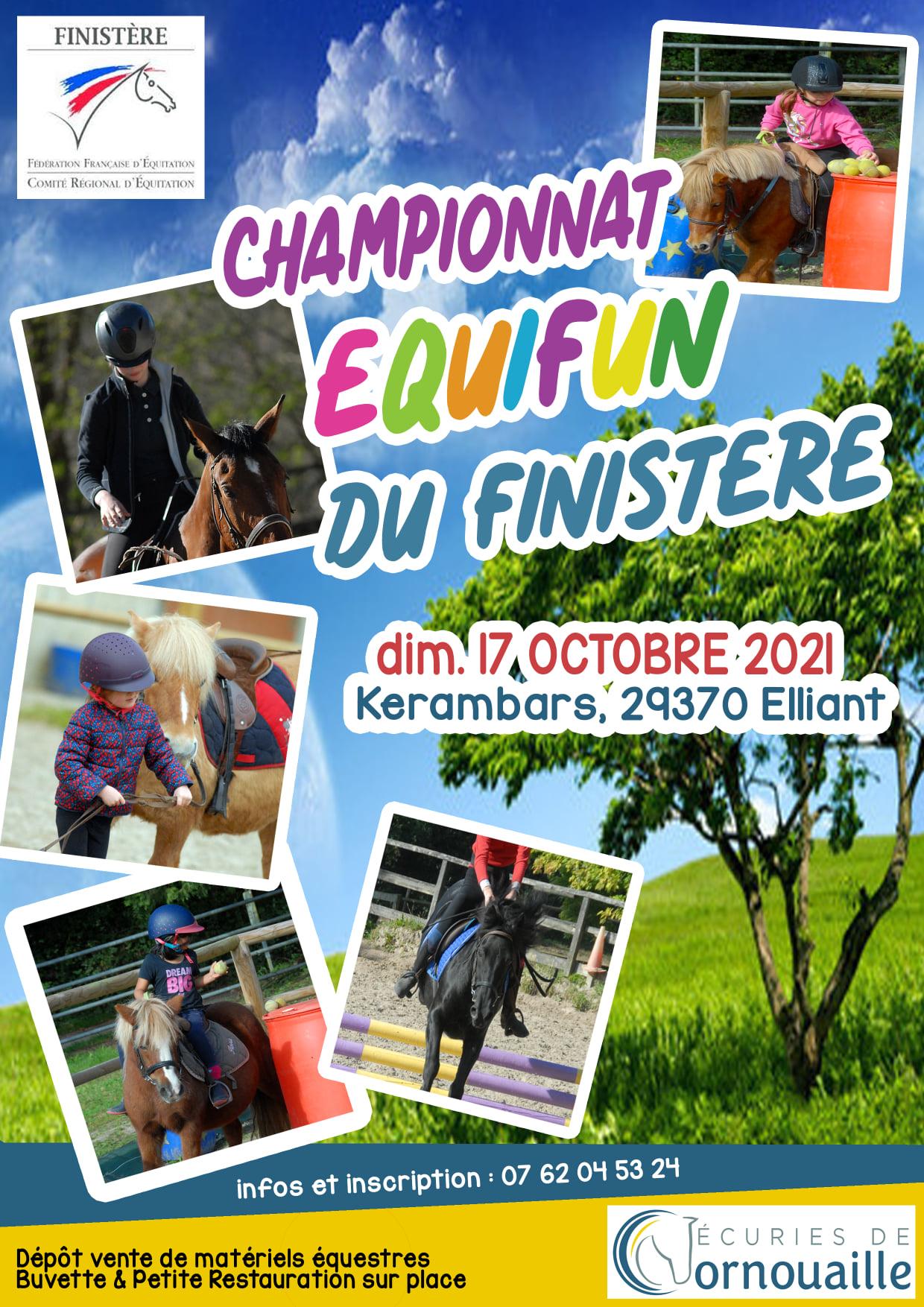 Championnat d'Equifun du Finistère - Association des Cavaliers des Ecuries de Cornouaille