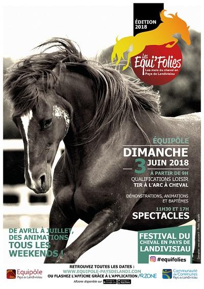 Lancement des Equifolies 2018 : Festival du cheval en Pays de Landivisiau