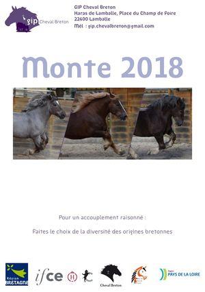 GIP cheval breton - Brochure Monte 2018