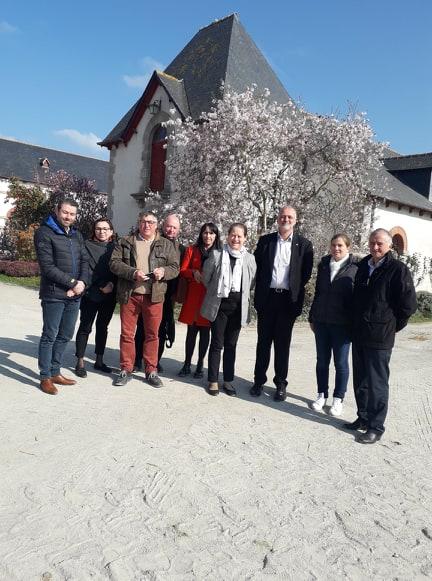 Le Conseil des Equidés de Bretagne reçoit une délégation australienne