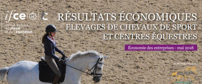 IFCE : Quels sont les résultats économiques des centres équestres et des élevages de chevaux de sport ?