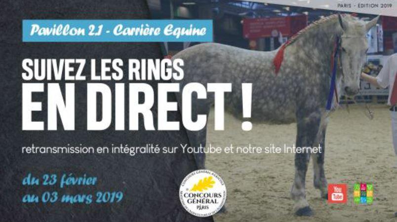 Salon de l'Agriculture de Paris à suivre en direct