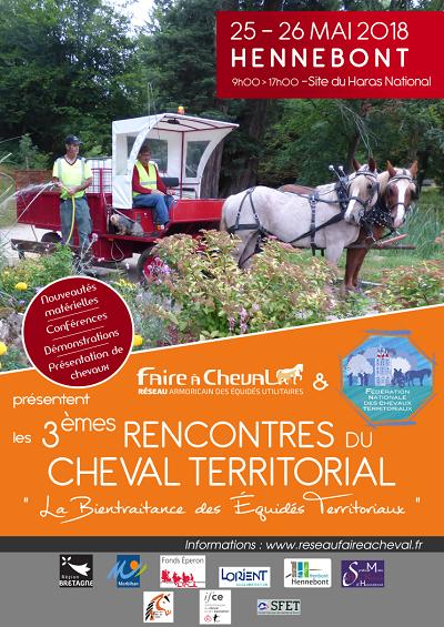 Retour sur les Troisièmes Rencontres du Cheval Territorial – Hennebont – 25-26 Mai 2018