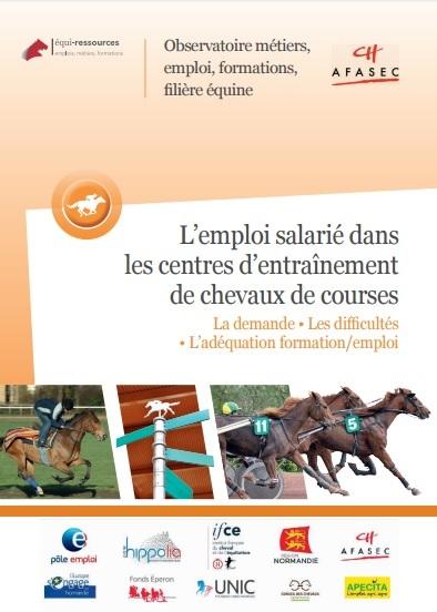 Rapport Emploi salarié dans les centres d'entraînement de chevaux de courses