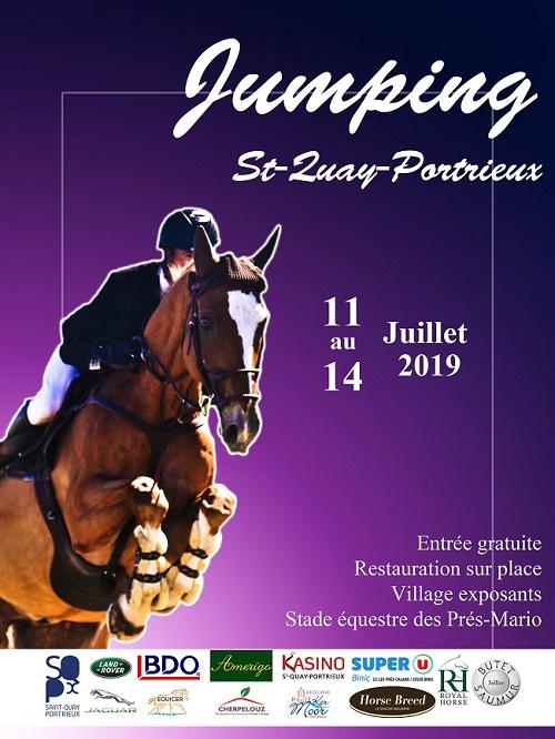 Jumping Saint-Quay-Portrieux du jeudi 11 juillet 2019 au dimanche 14 juillet 2019