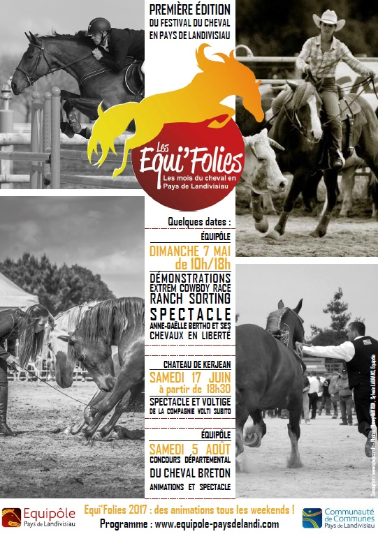 Les Equi'Folies, le mois du cheval en Pays de Landivisiau