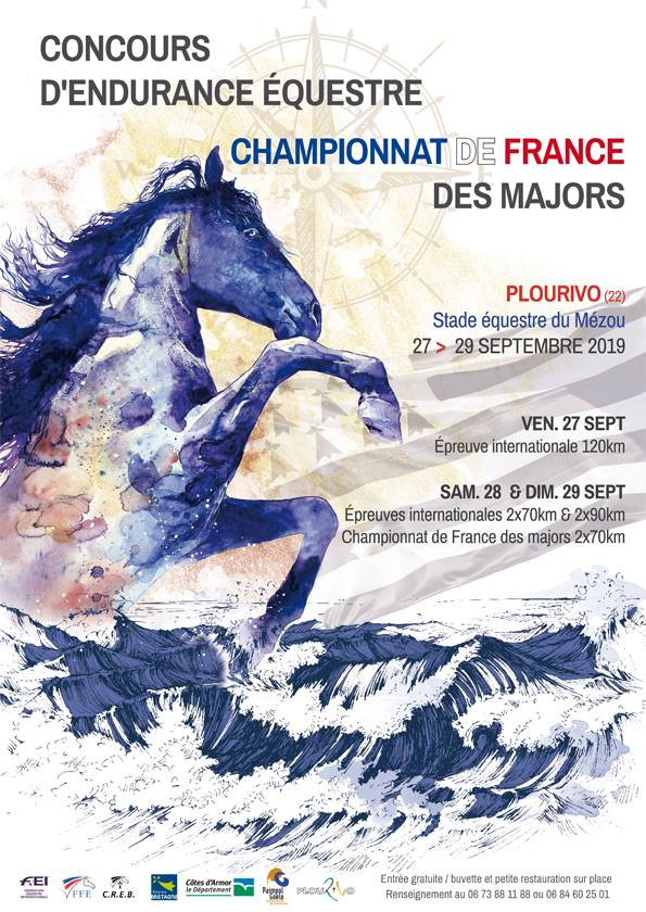 Plourivo : Championnat de France des Majors - Endurance du 27 au 29 septembre