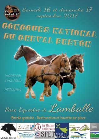 Concours National du Cheval Breton à Lamballe