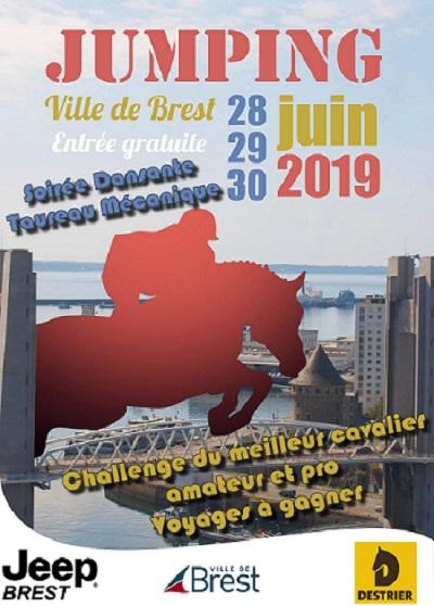 Jumping à Brest du 28 au 30 juin
