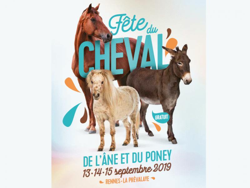 Fête du cheval de l'âne et du poney à Rennes La Prévalaye