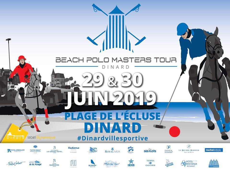 Beach Polo Masters Tour à Dinard le 29 et 30 juin