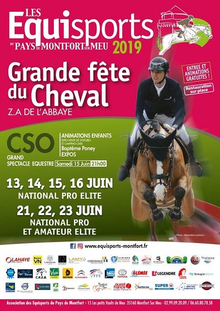 Concours hippique et Grande fête du cheval à Montfort sur Meu