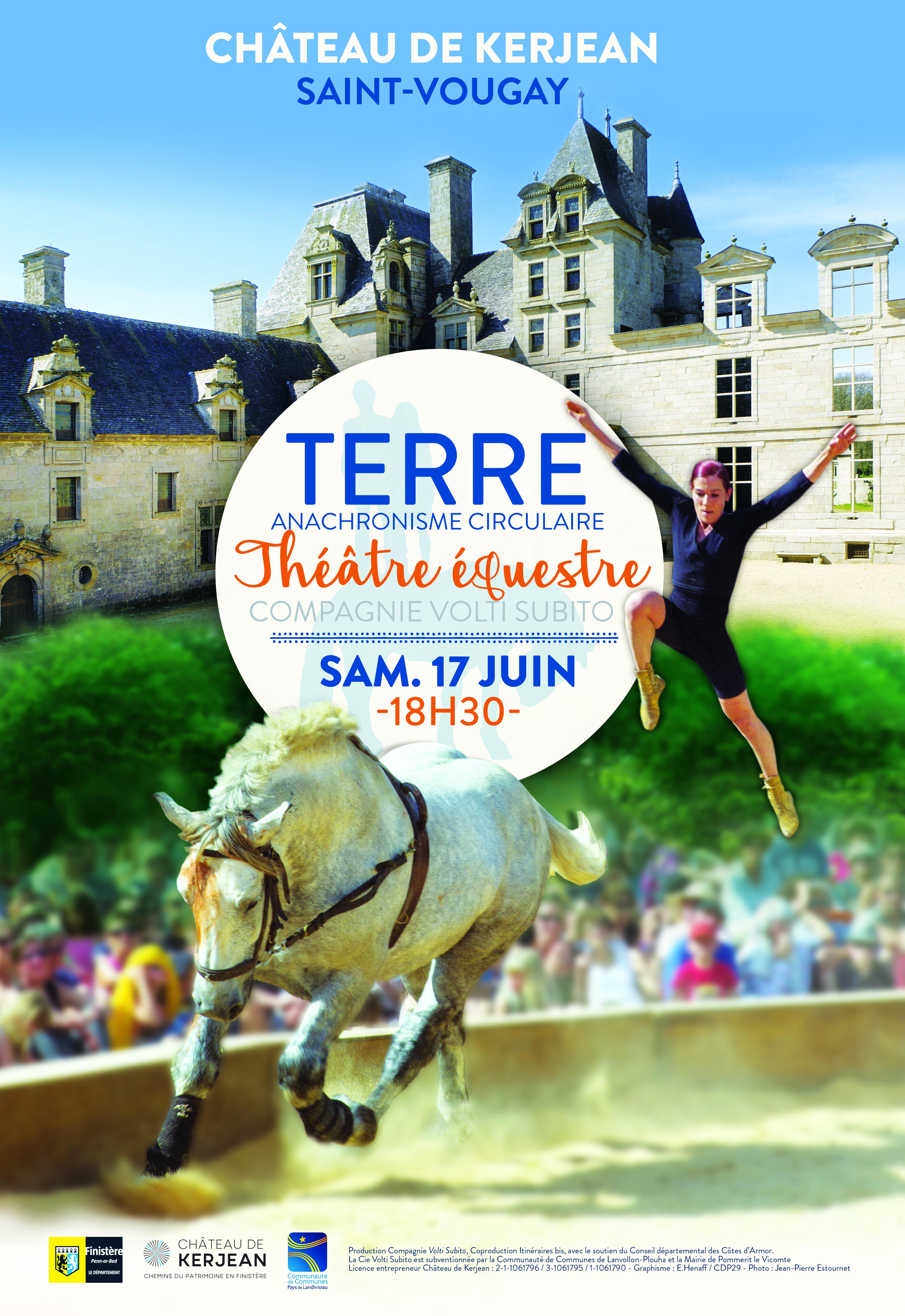 Théâtre Equestre au Château de Kerjean (Saint Vougay)