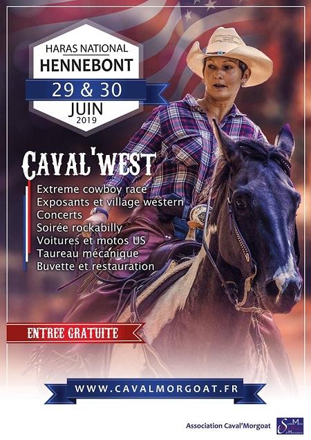 Caval'West 29 et 30 juin au Haras National d'Hennebont